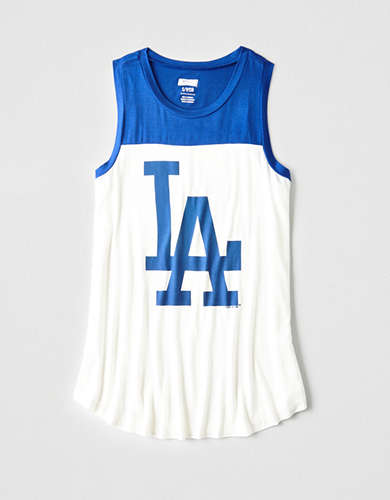 Tailgate Women's LA Dodgers Color Block Tank