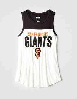 Tailgate Women's San Francisco Giants Color Block Tank
