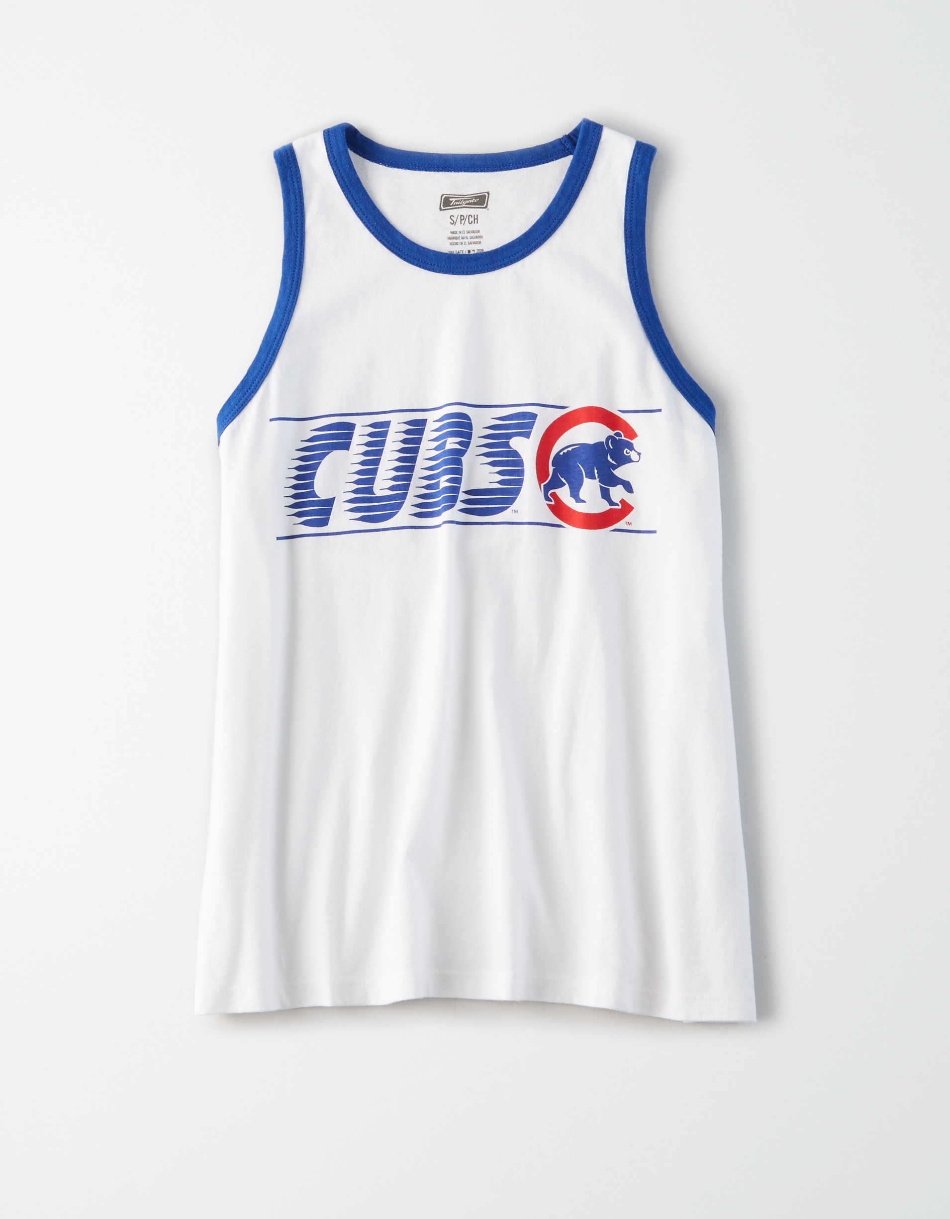 Tailgate Women's Chicago Cubs Tank Top