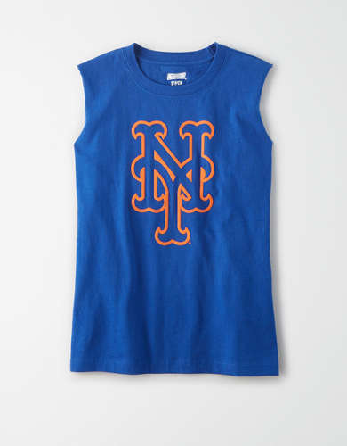 Tailgate Women's New York Mets Muscle Tank Top