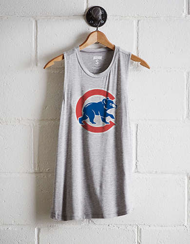 Tailgate Women's Chicago Cubs Tank - Free Returns