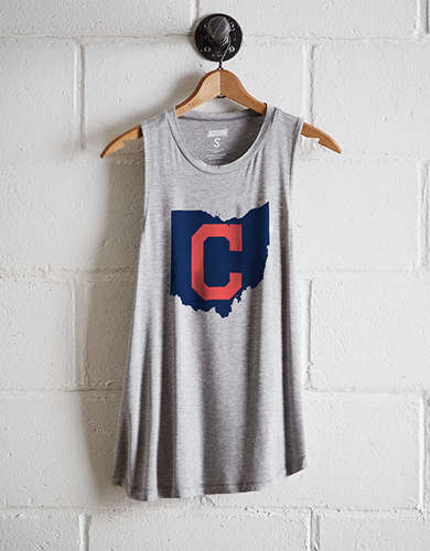 Tailgate Women's Cleveland Indians Tank - Buy One Get One 50% Off