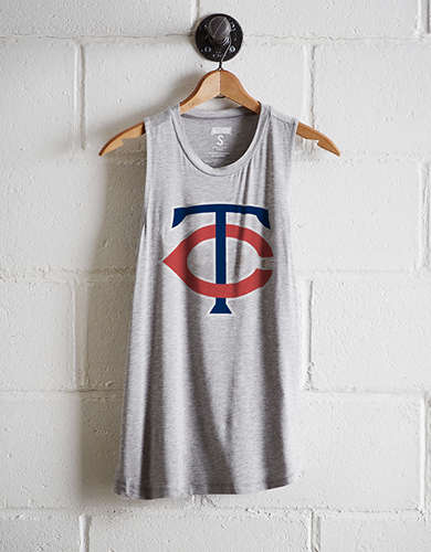 Tailgate Women's Minnesota Twins Tank - Free Returns