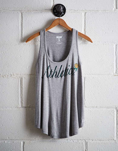 Tailgate Women's Oakland A's Scoop Neck Tank - Free Shipping & Returns