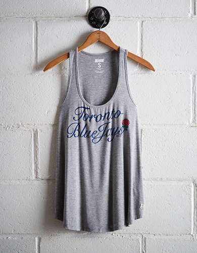 Tailgate Women's Toronto Blue Jays Scoop Neck Tank - Free Returns