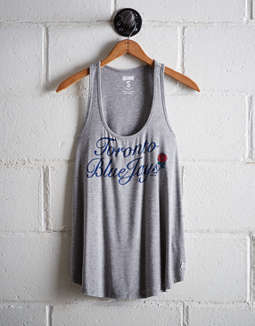 Tailgate Women's Toronto Blue Jays Scoop Neck Tank