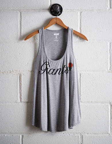 Tailgate Women's San Francisco Giants Scoop Neck Tank - Free Returns