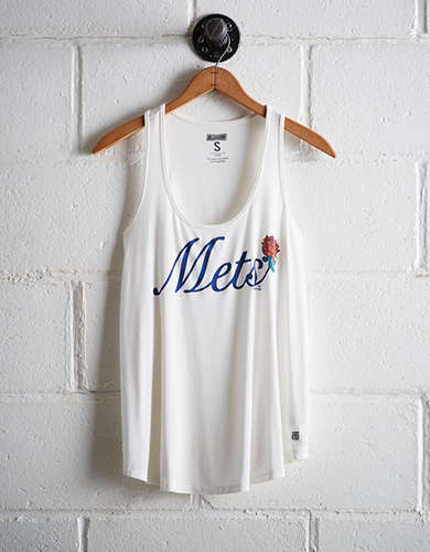 Tailgate Women's NY Mets Scoop Neck Tank - Free Returns