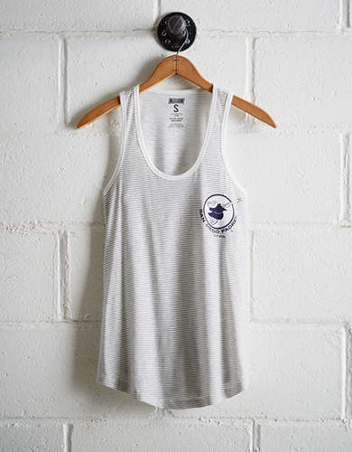 Tailgate Women's San Diego Padres Striped Scoop Neck Tank - Buy One Get One 50% Off