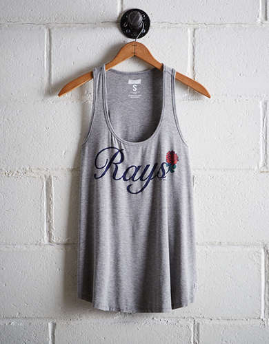 Tailgate Women's Tampa Bay Rays Scoop Neck Tank - Free Returns