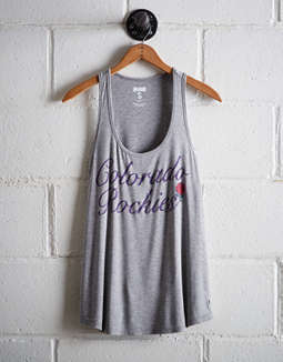 Tailgate Women's Colorado Rockies Scoop Neck Tank