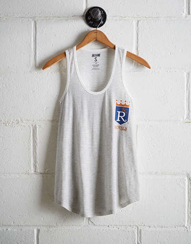 Tailgate Women's Kansas City Striped Scoop Neck Tank - Buy One Get One 50% Off
