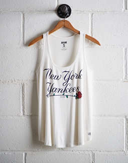 Tailgate Women's NY Yankees Scoop Neck Tank