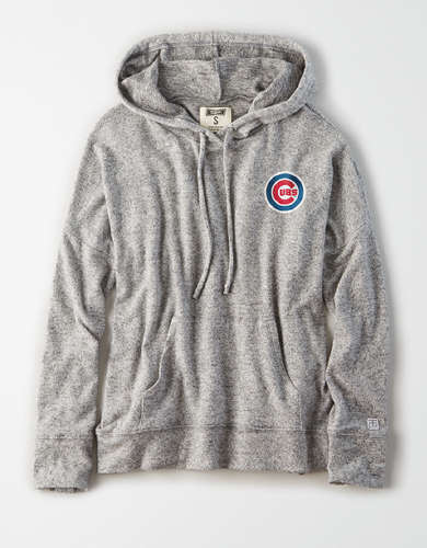 Tailgate Women's Chicago Cubs Plush Hoodie