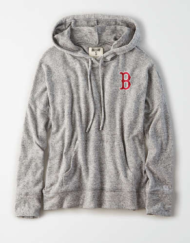 Tailgate Women's Boston Red Sox Plush Hoodie