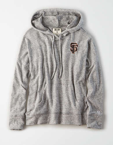 Tailgate Women's San Francisco Giants Plush Hoodie