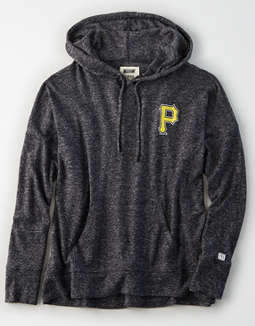 Tailgate Women's Pittsburgh Pirates Plush Hoodie