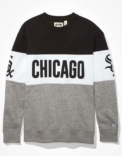 Tailgate Women's Chicago White Sox Colorblock Sweatshirt