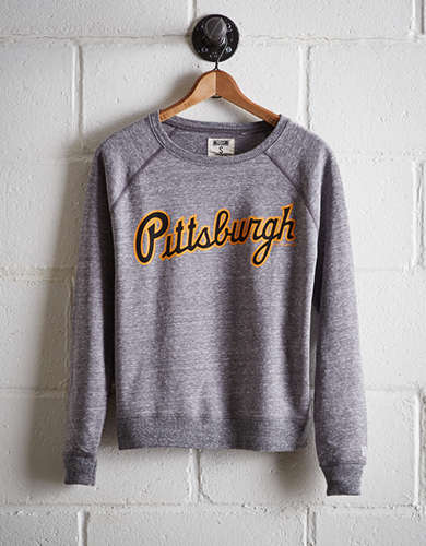 Tailgate Women's Pittsburgh Pirates Crew Sweatshirt - Free Shipping + Free Returns