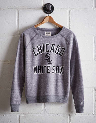 Tailgate Women's Chicago White Sox Crew Sweatshirt - Free Returns