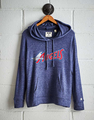 Tailgate Women's Los Angeles Angels Plush Hoodie - Free Returns