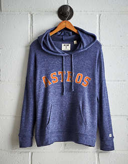 Tailgate Women's Houston Astros Plush Hoodie