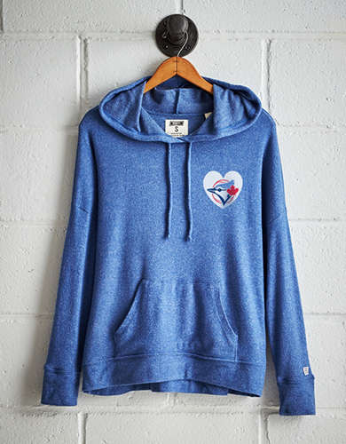 Tailgate Women's Toronto Blue Jays Plush Hoodie - Free Returns