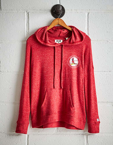 Tailgate Women's St. Louis Cardinals Plush Hoodie - Buy One Get One 50% Off