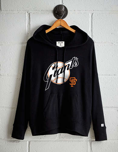 Tailgate Women s San Francisco Giants Plush Hoodie - Free Shipping   Returns 4200645ee