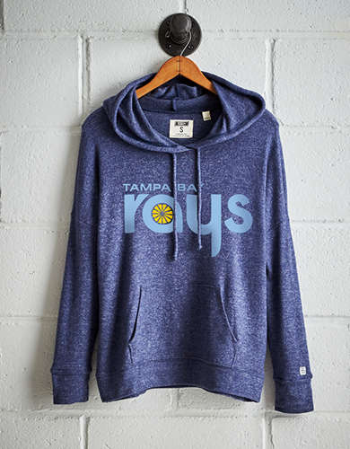 Tailgate Women's Tampa Bay Rays Plush Hoodie - Free Shipping + Free Returns