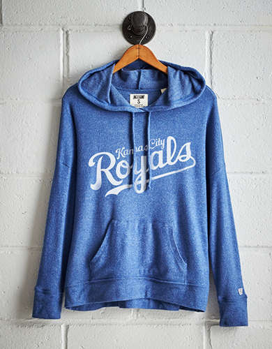 Tailgate Women's Kansas City Royals Plush Hoodie - Free Returns