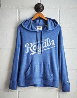 Tailgate Women's Kansas City Royals Plush Hoodie