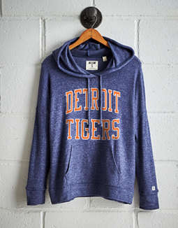 Tailgate Women's Detroit Tigers Plush Hoodie