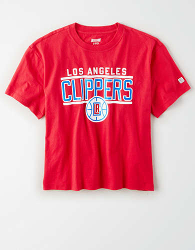 Tailgate Women's LA Clippers Cropped T-Shirt