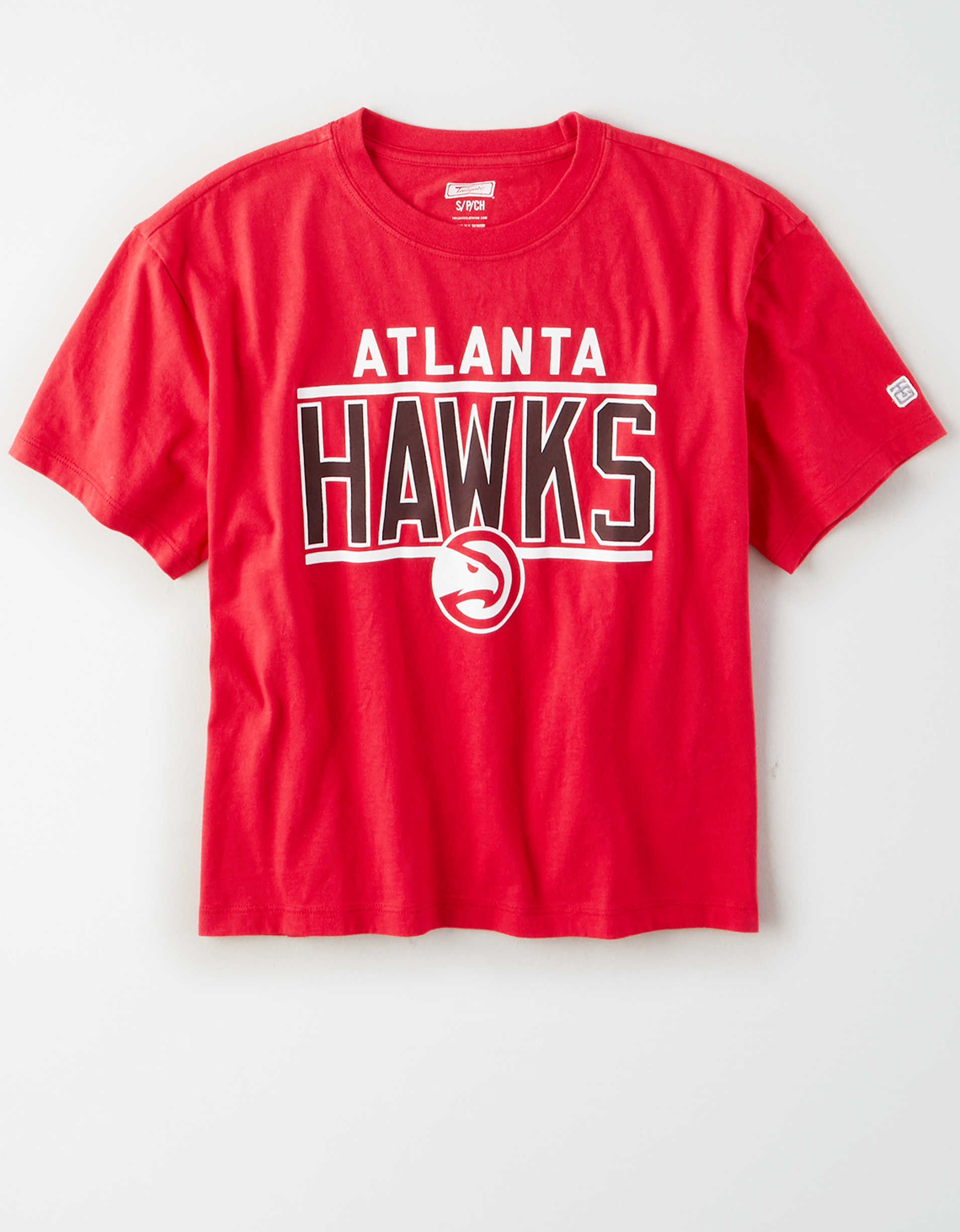 Tailgate Women's Atlanta Hawks Cropped T-Shirt
