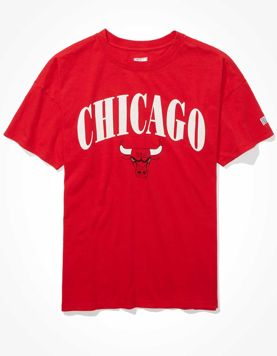 Tailgate Women's Chicago Bulls Oversized T-Shirt