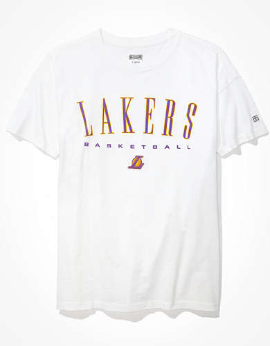 Tailgate Women's LA Lakers Oversized T-Shirt