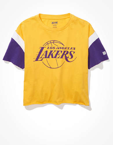 Tailgate Women's LA Lakers Colorblock T-Shirt