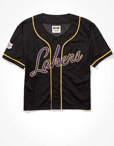 Tailgate Women's LA Lakers Mesh Jersey