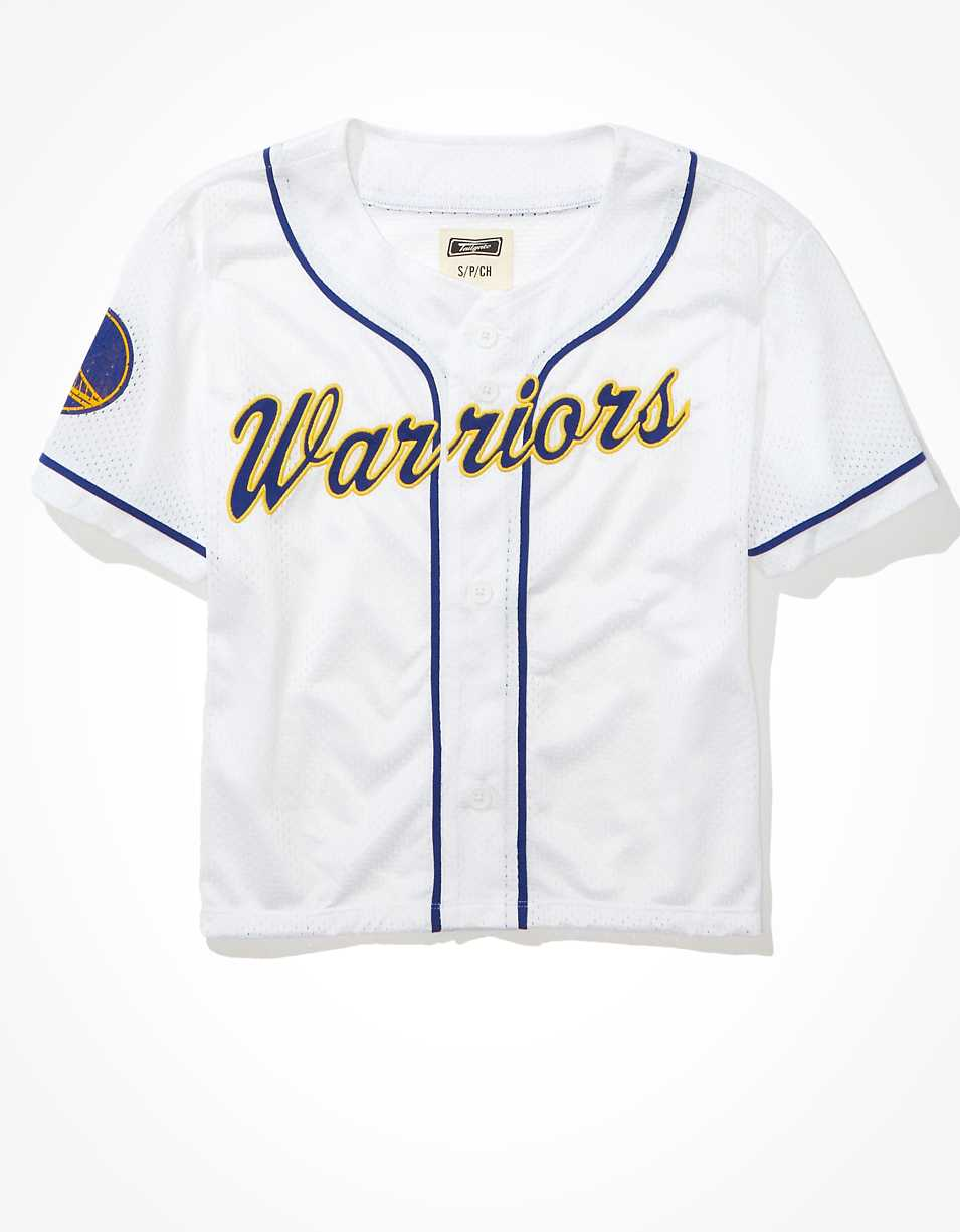 Tailgate Women's Golden State Warriors Mesh Jersey