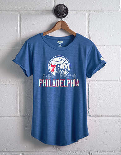Tailgate Women's Philadelphia 76ers T-Shirt - Free returns