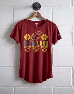 Tailgate Women's Cleveland Hoops T-Shirt