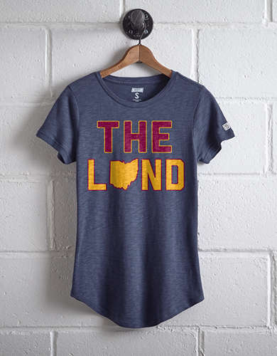 Tailgate Women's The Land Cavaliers T-Shirt - Free shipping & returns with purchase of NBA item