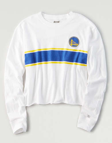 Tailgate Women's Golden State Warriors Long Sleeve T-Shirt