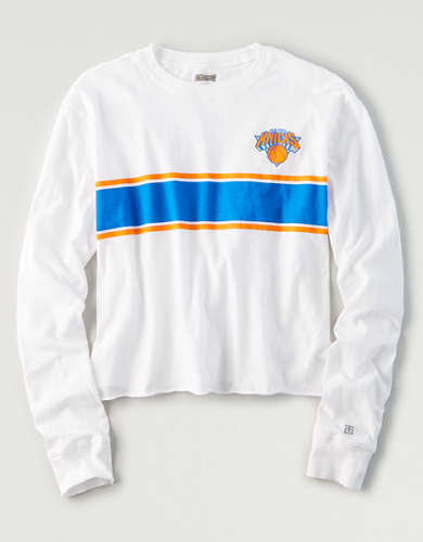 Tailgate Women's NY Knicks Long Sleeve T-Shirt