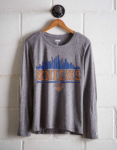 Tailgate Women's NY Knicks Long Sleeve T-Shirt - Free Returns