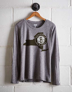 8e63f401a placeholder image Tailgate Women's Brooklyn Nets Long Sleeve T-Shirt