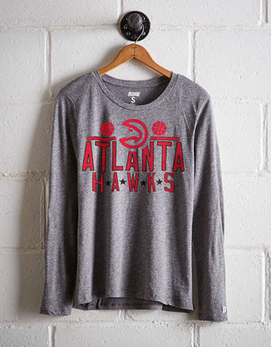 Tailgate Women's Atlanta Hawks Long Sleeve T-Shirt - Free Returns