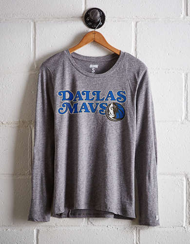 Tailgate Women's Dallas Mavs Long Sleeve T-Shirt - Free Returns