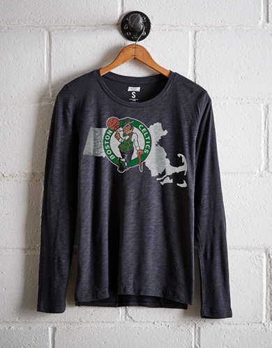 Tailgate Women's Boston Celtics Long Sleeve T-Shirt - Free Returns